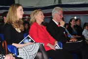 US_Navy_110401-N-KD852-385_Chelsea_Clinton,_left,_Secretary_of_State_Hillary_Rodham_Clinton_and_former_U.S._President_William_Jefferson_Clinton_att